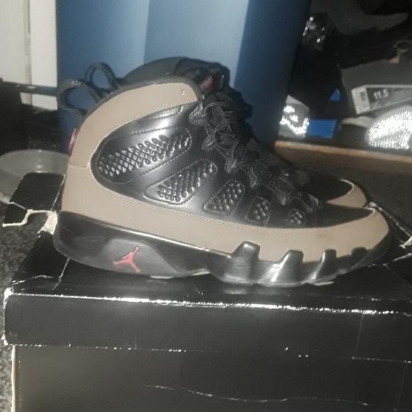 check out f4344 a8544 Air Jordan Retro 9 Olive